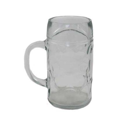 Ølkrus inklusiv opvask på 1 liter udlejes i Nordjylland til fester
