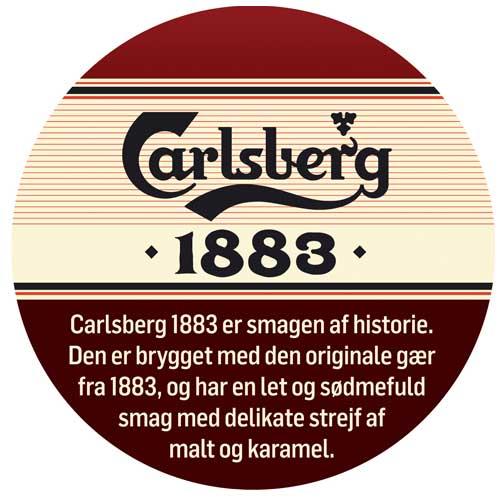 Carlsberg 1883 fustage på 25 liter