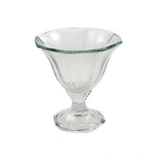 Dessertglas og portionsanretning til fx rejecocktail til udlejning i Nordjylland